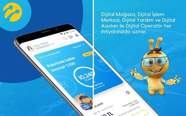 Turkcell UpCall Statune Bedava İnternet 1